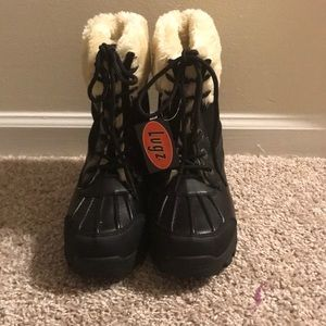 NWT Lugz Boy's Winter Fur Lined Snow Boots
